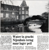 Krant Akerman Hans blanke t' Nijenhuis eind jaren 80