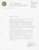 Uitnodigings brief  feestavond 1979